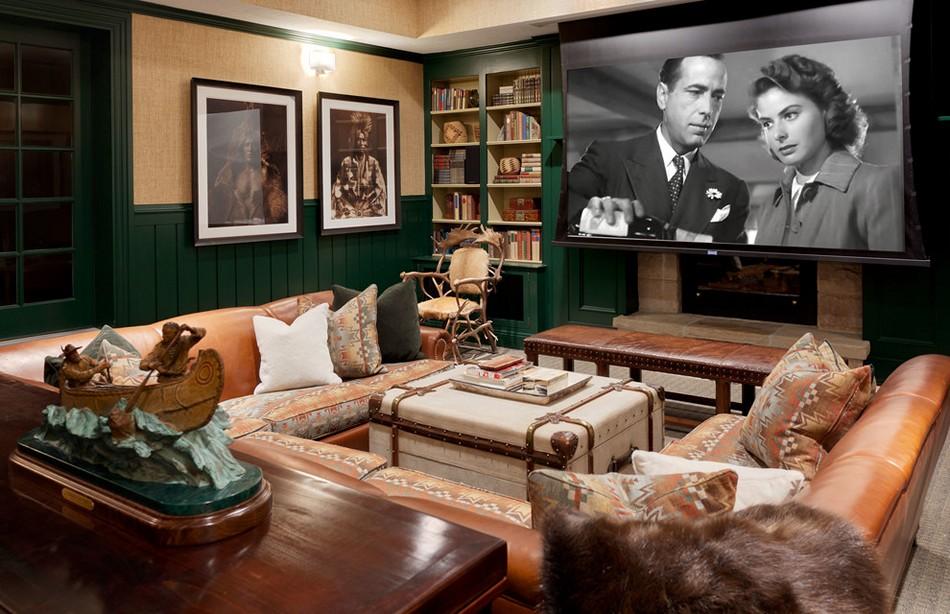 cinema lover interior design