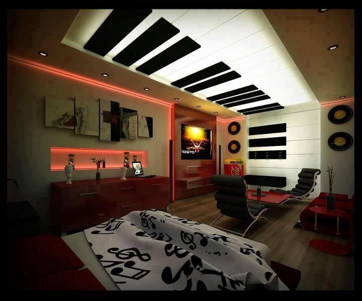 music theme interior design
