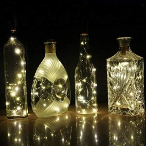 bottle cork light