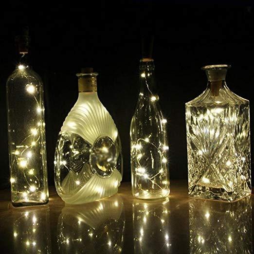 bottle cork light