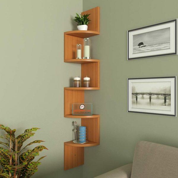 Bavarian beach corner wall mounted shelf