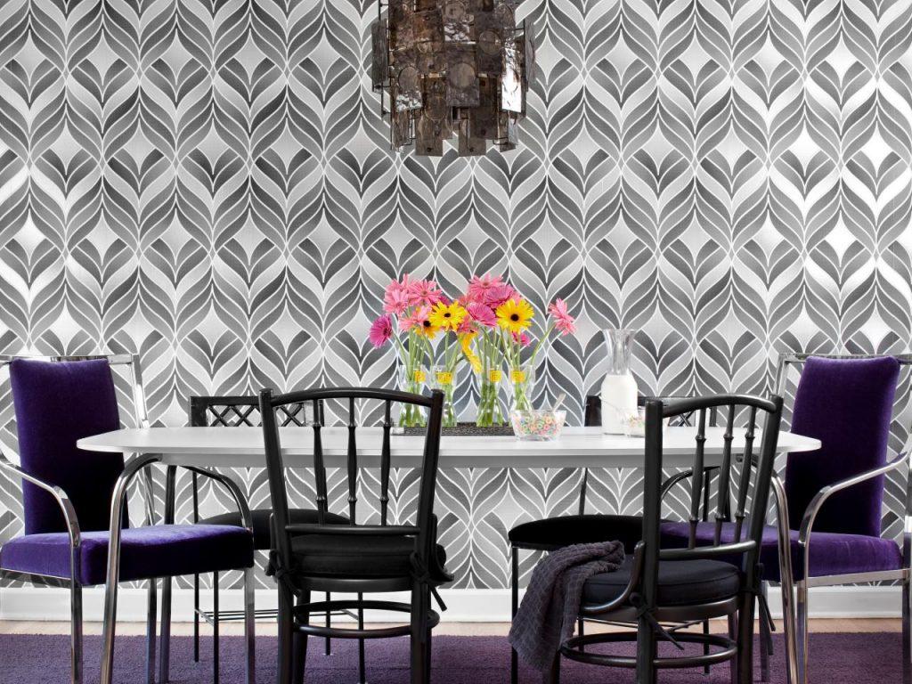 Wallpaper Idea For Dining Room