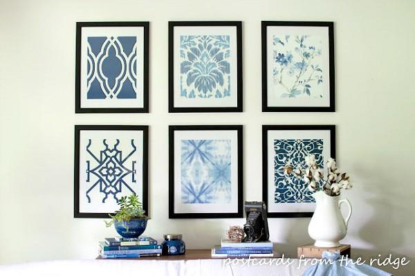 framed wallpaper ideas