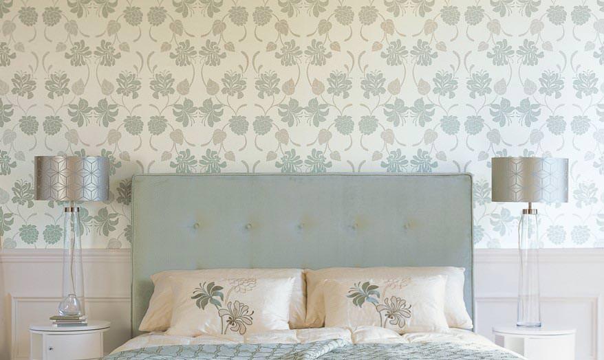 Half Wall Covering Wallpaper