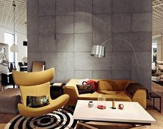 concrete wall finish ideas