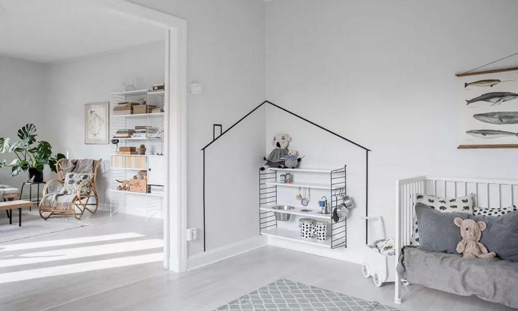 decorate an odd corner