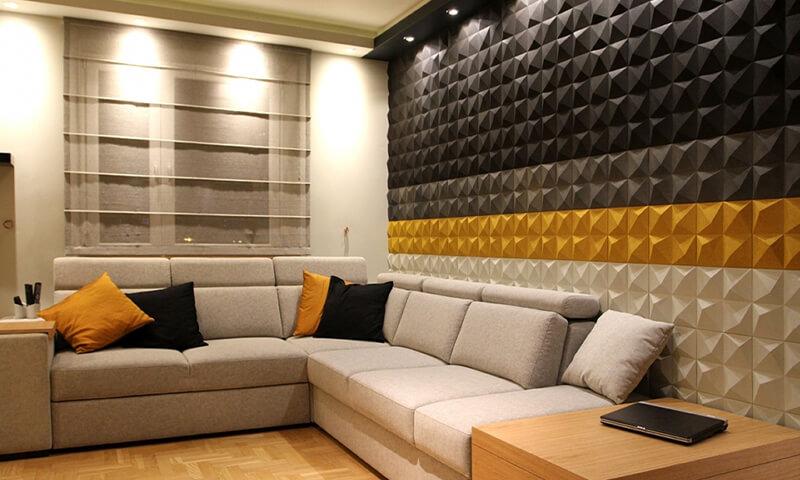3D wallpaper for designing walls