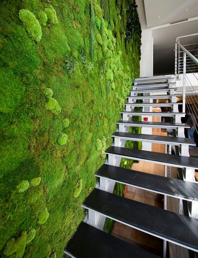 moss wall finish ideas