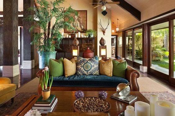 tropical style interior designs
